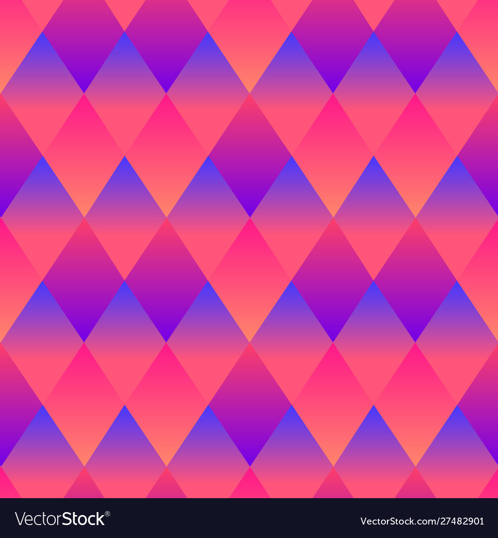 Psychedelic rhombuses bright abstract decorative