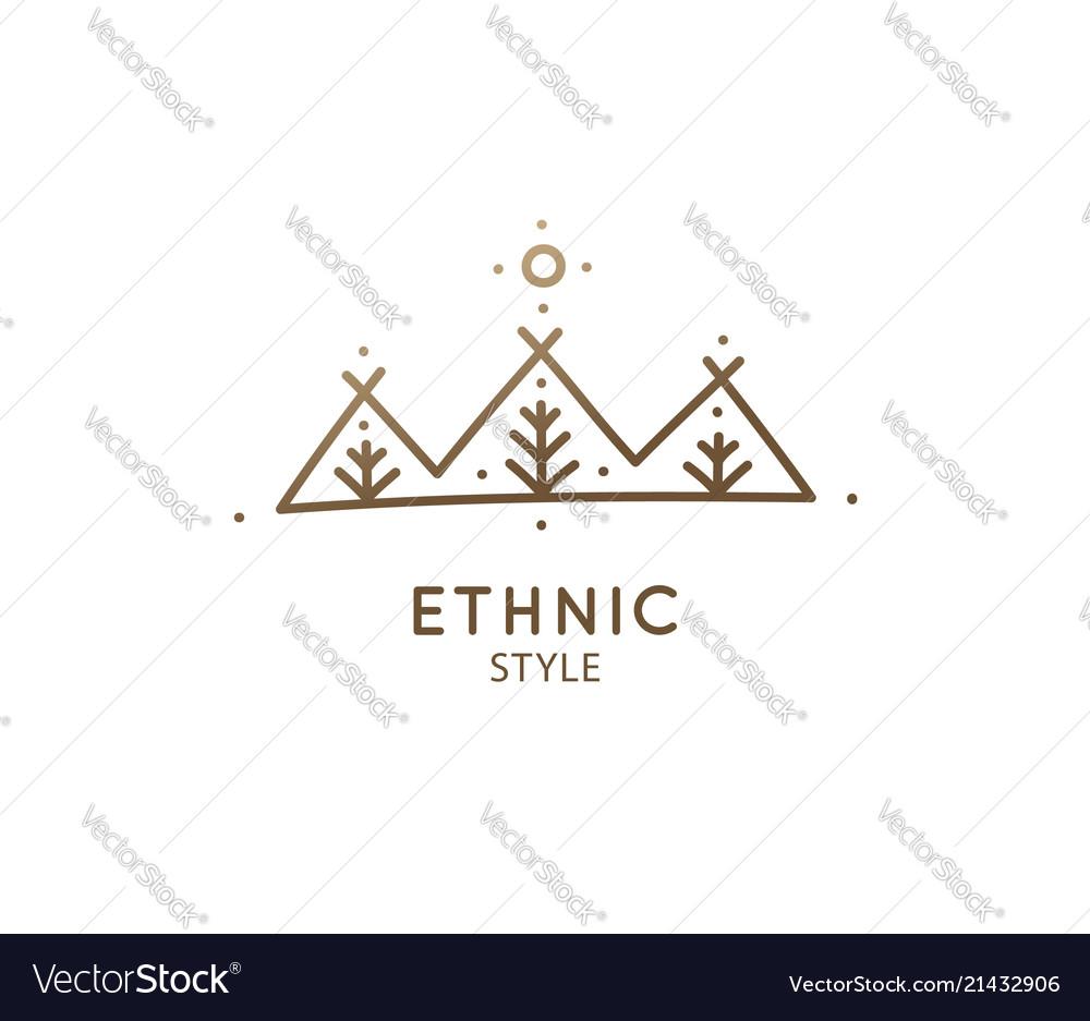 Simple logo nature