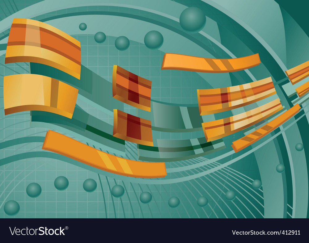Abstraction background vector image