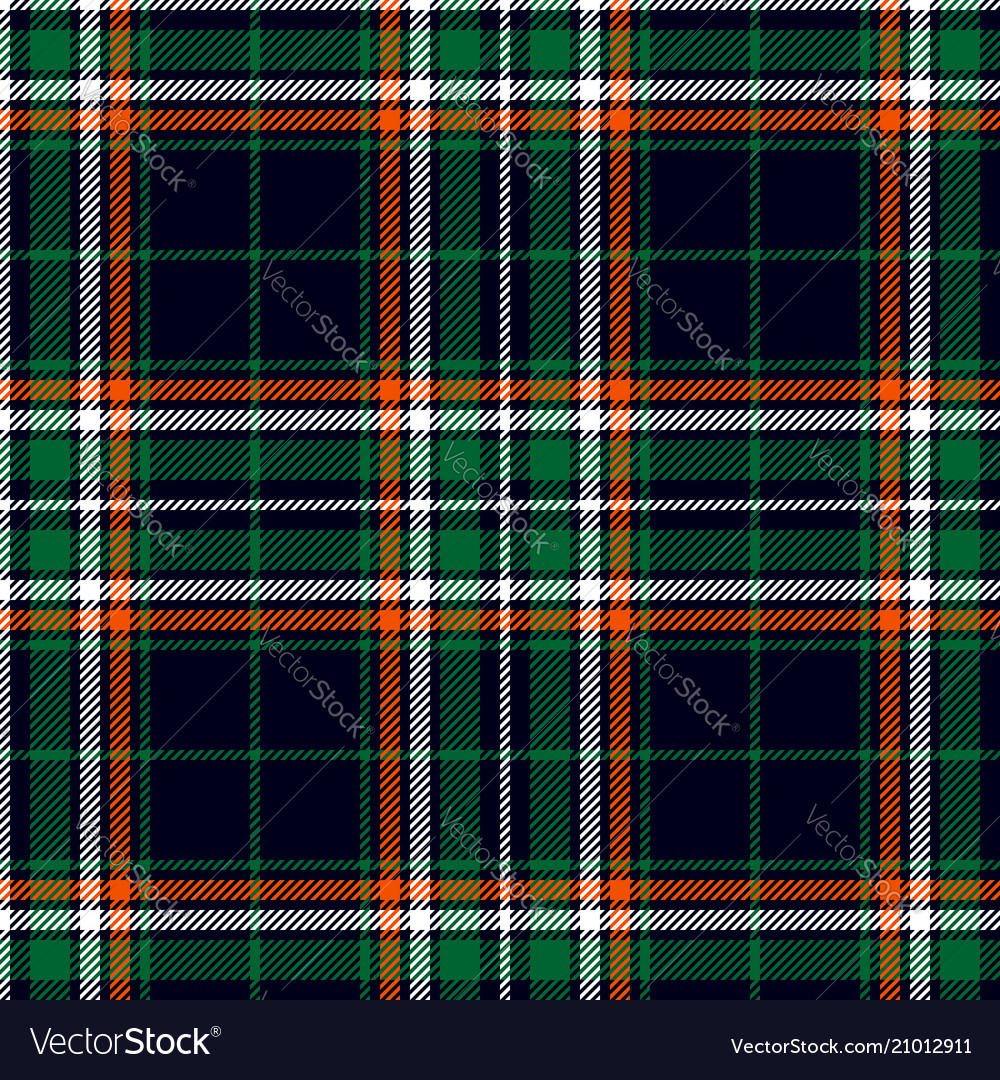 Classic plaid pattern vector
