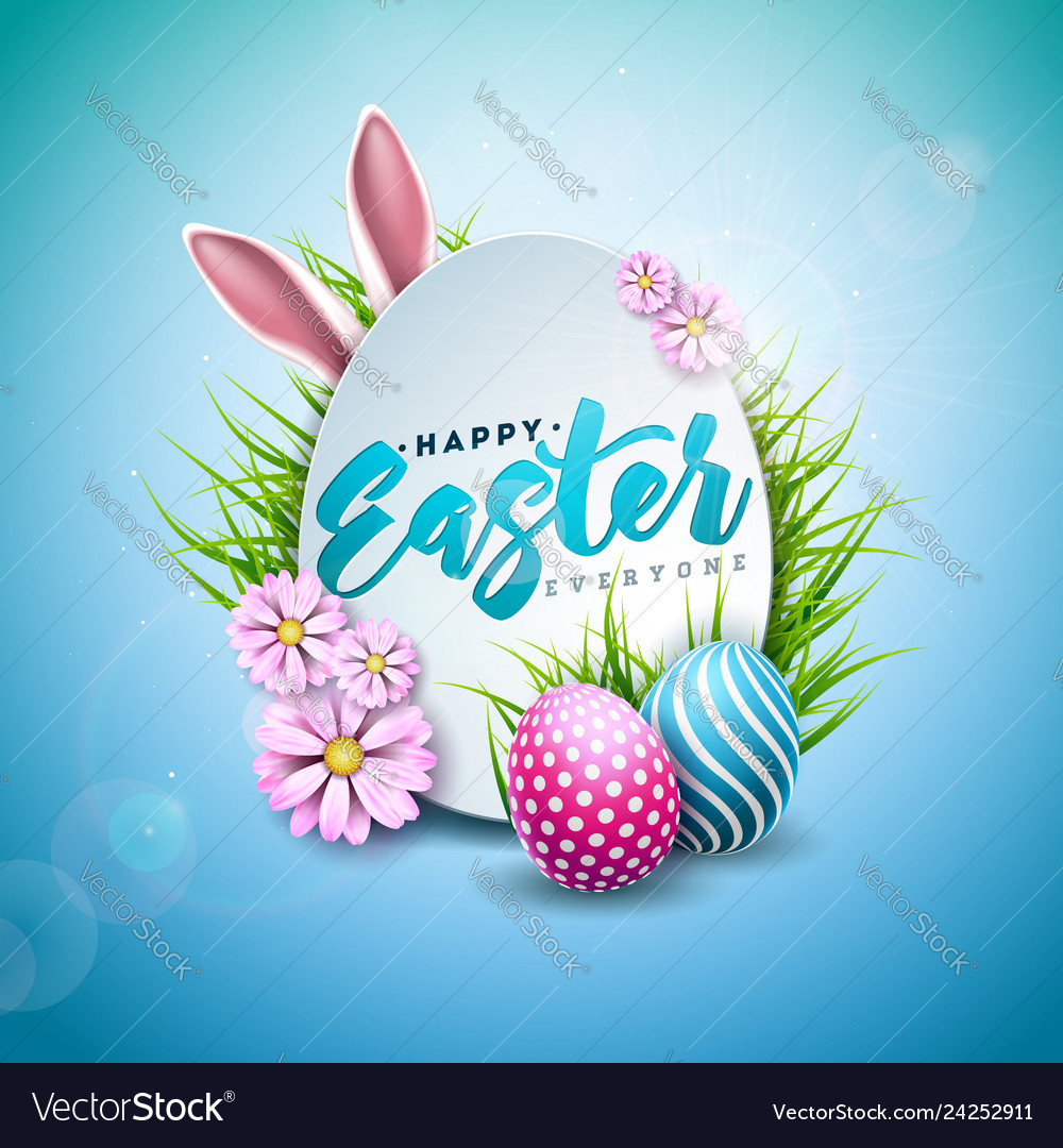 Happy easter holiday with
