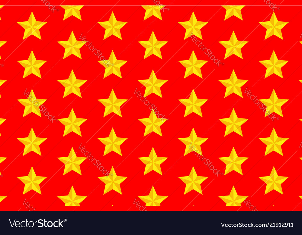 Yellow Five Pointed Star