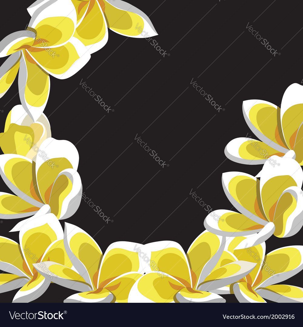 Floral pattern hand-drawing vector image