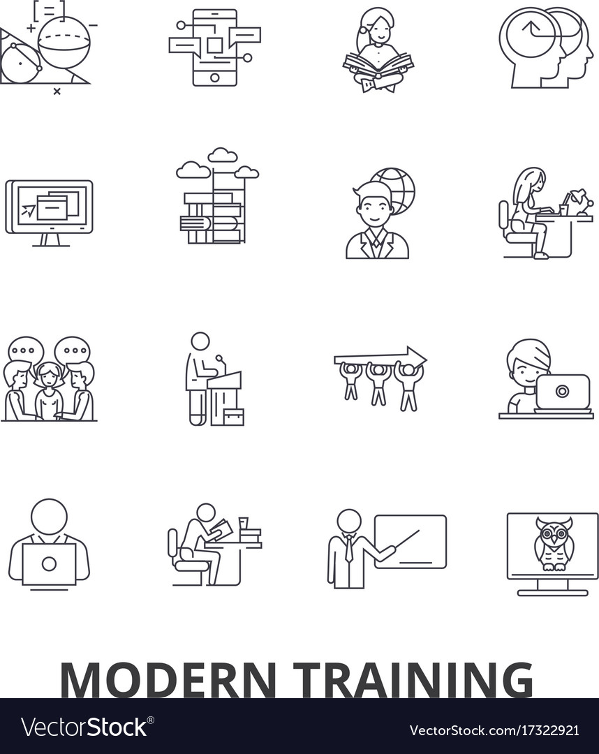 Modern training business learning online course