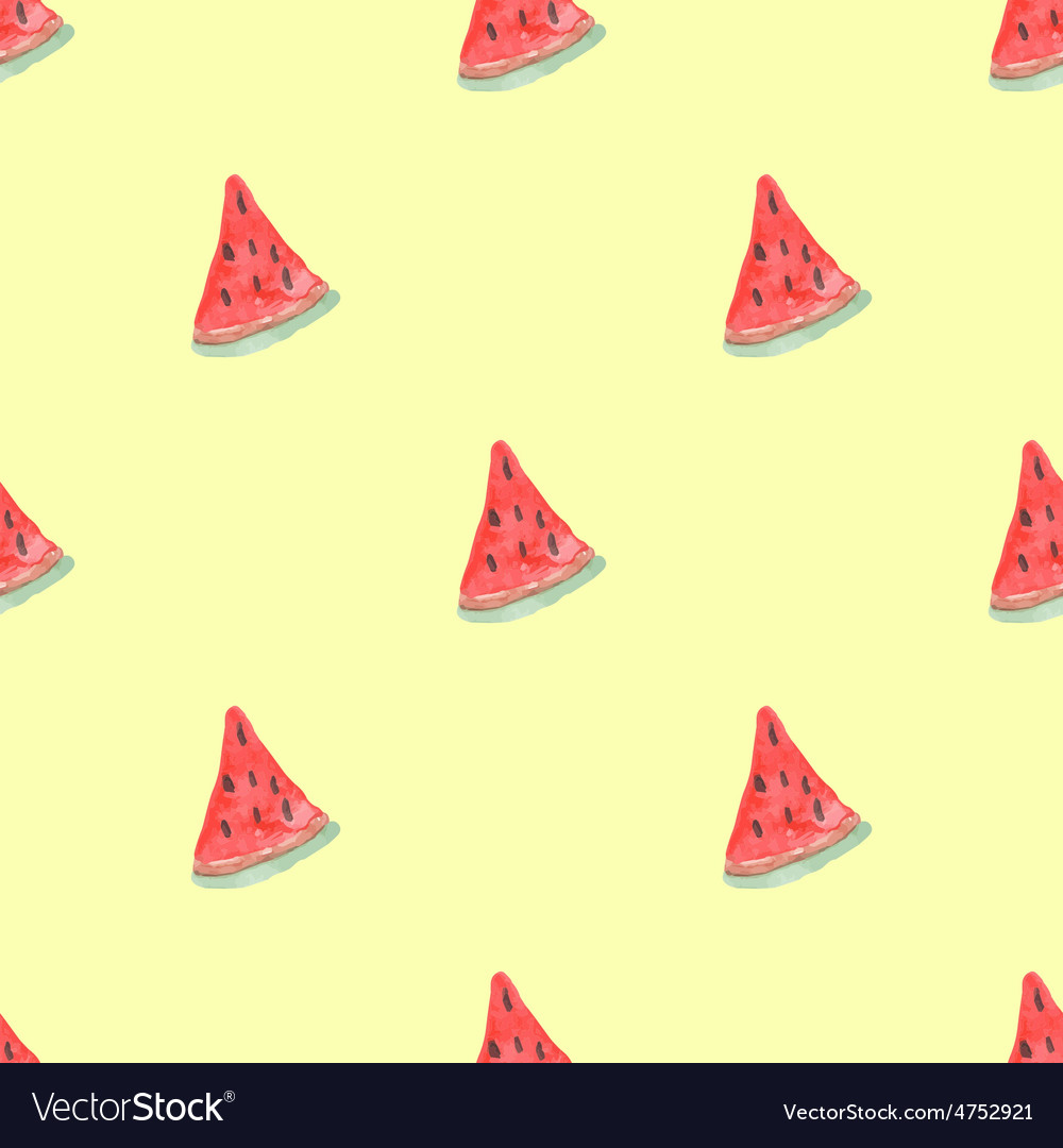 Seamless natural color pattern of red ripe