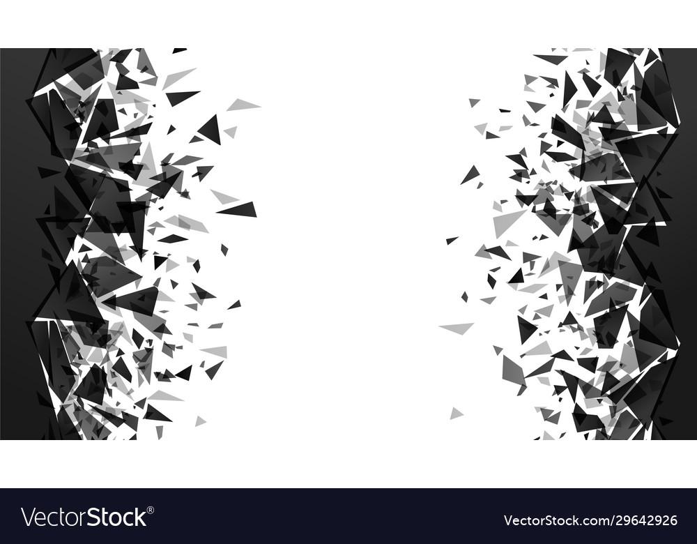 Abstract shatter destruction background broken