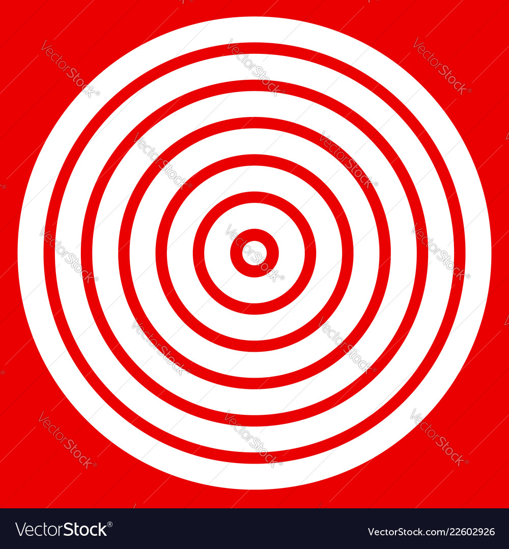 image relating to Printable Bullseye Target named Straightforward straightforward towards print focus mark with bullseye