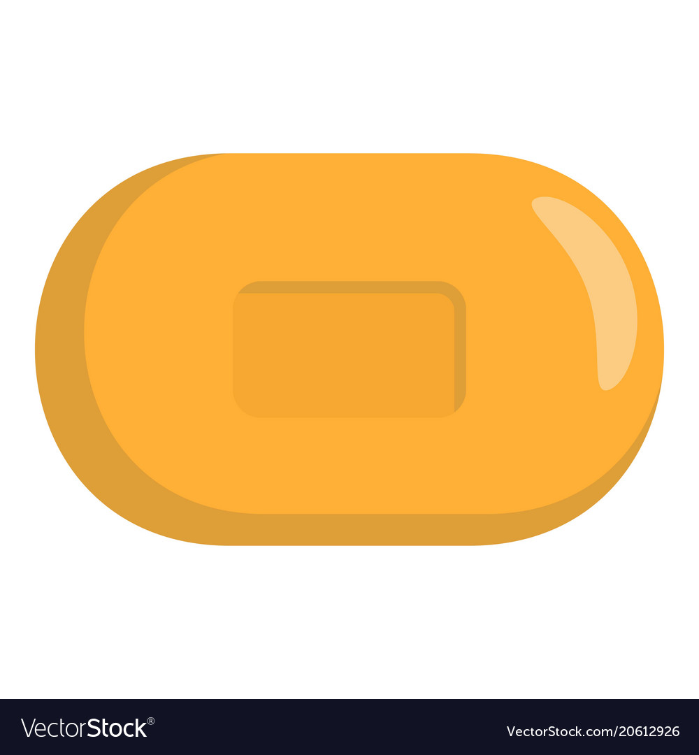 Soap icon flat style