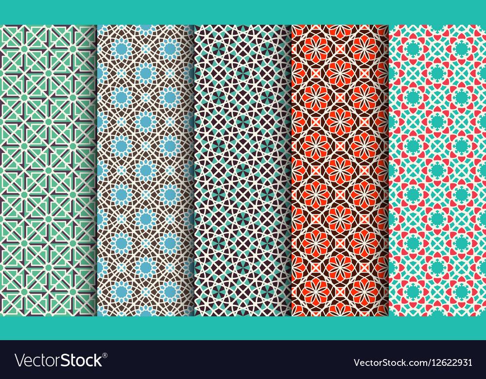 Set geometric patterns