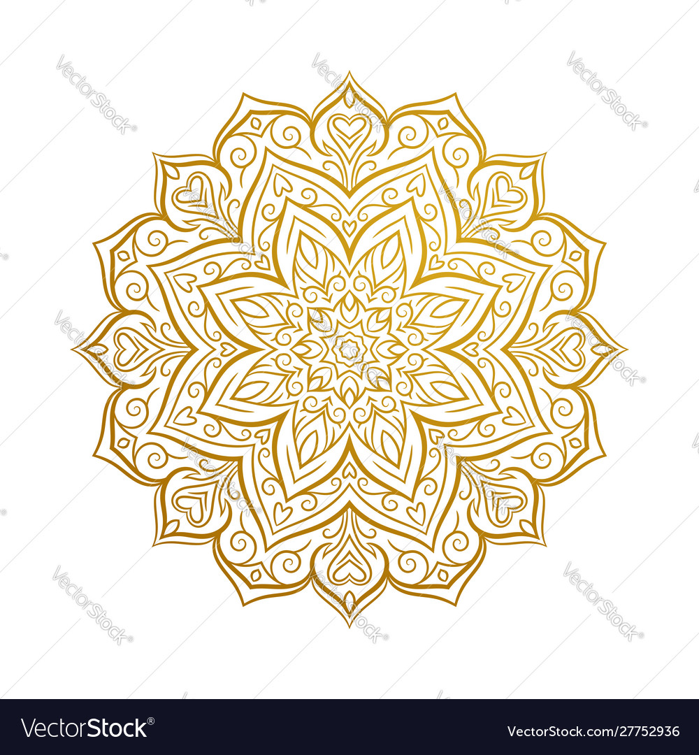 Beautiful mandala decorative element