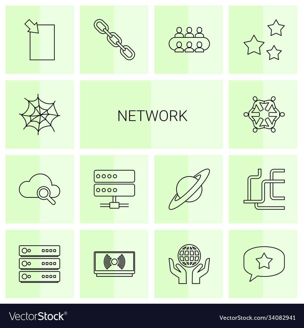 14 network icons