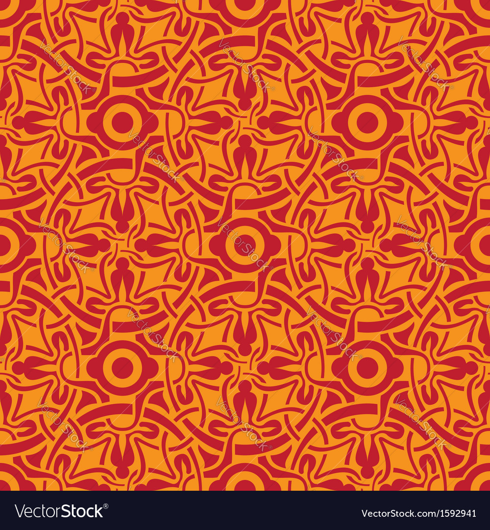 Seamless wallpaper 273 vector image