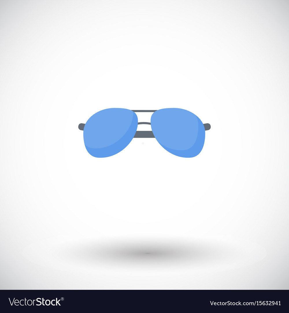 Sunglasses flat icon
