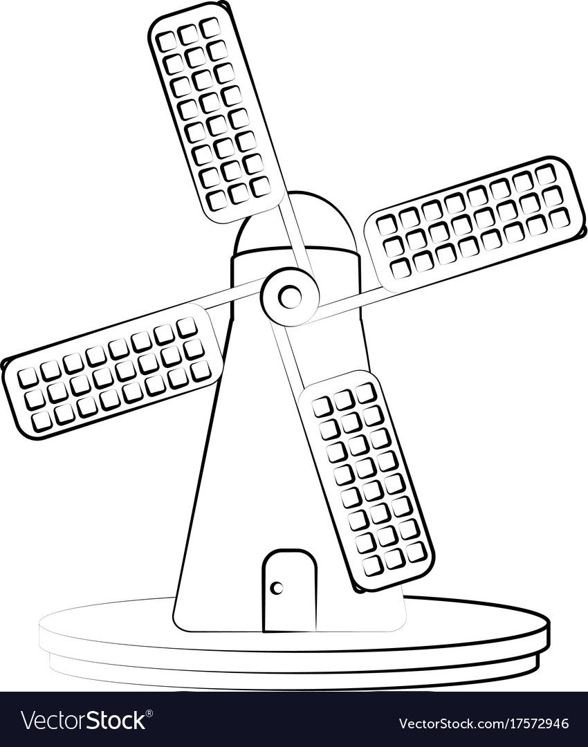 Fam windmill symbol