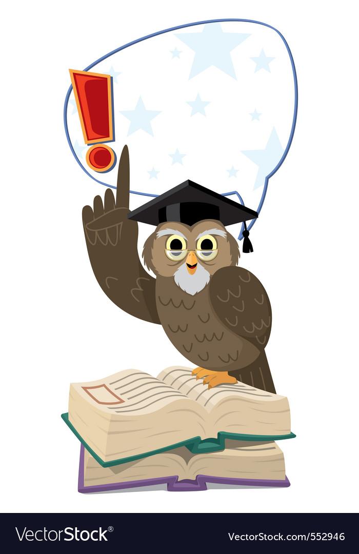 Owl speaking