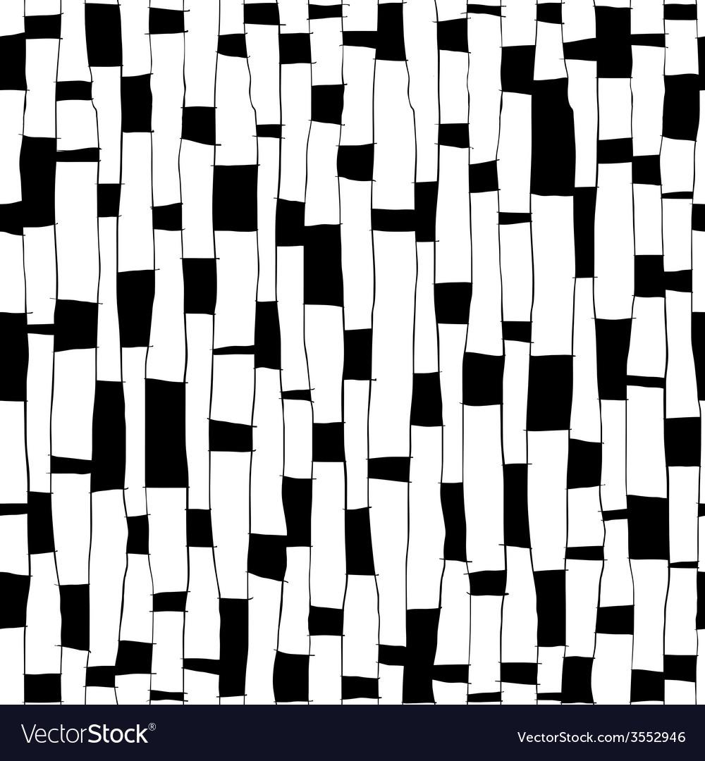Stylized Birch Seamless Pattern vector image