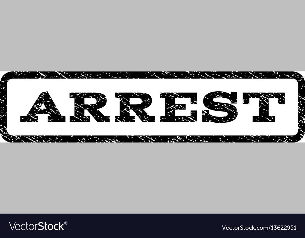 Arrest watermark stamp