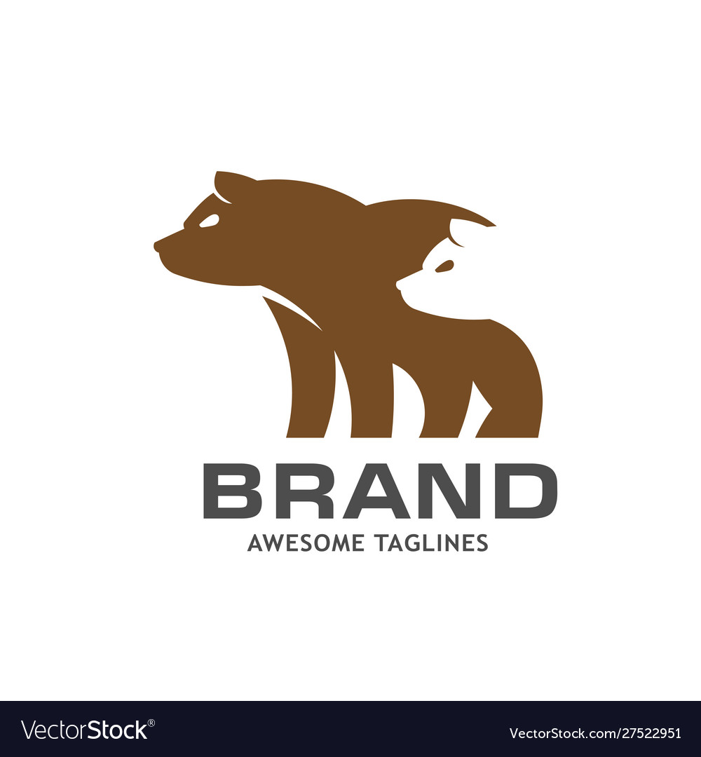 Bear for graphic and web