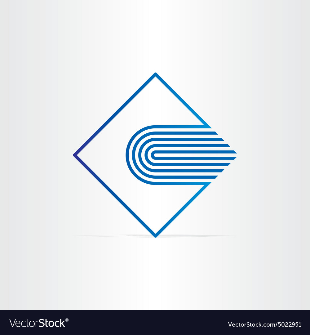 Blue book library school and university symbol vector image