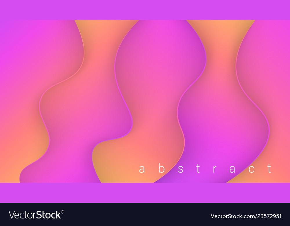 Fluid colorful 3d background