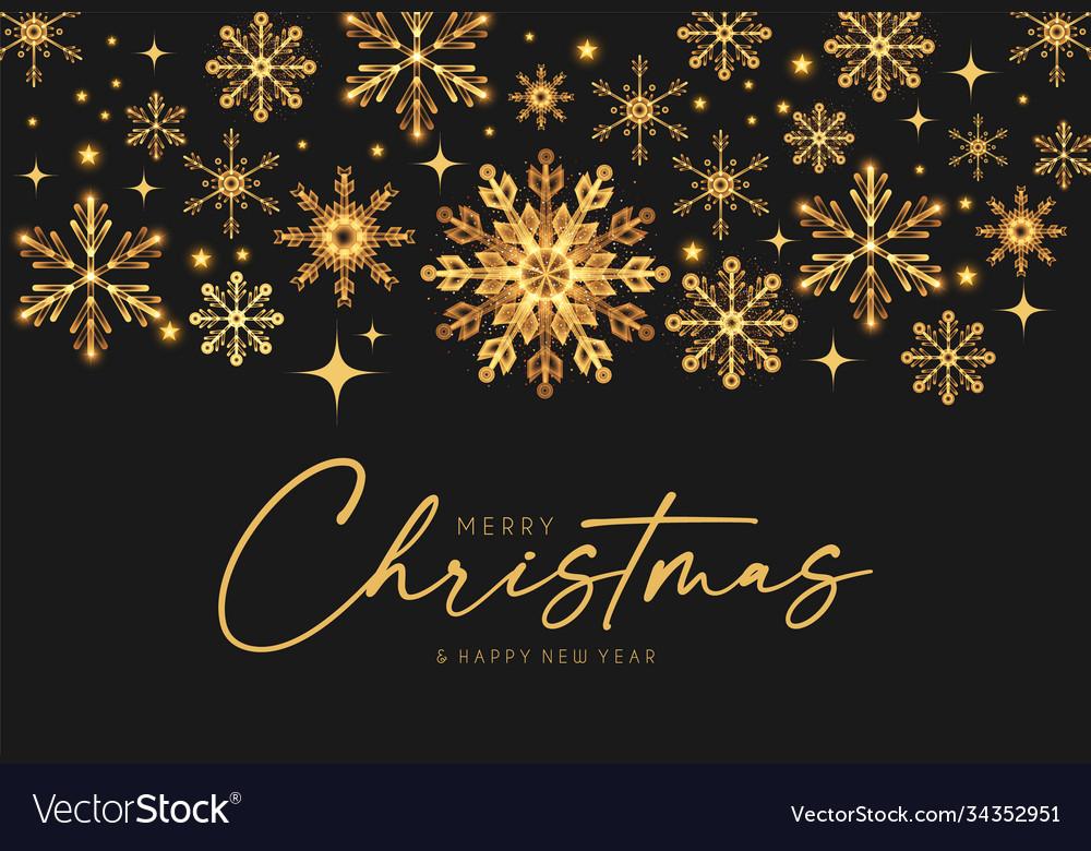 Merry christmas elegant holiday design