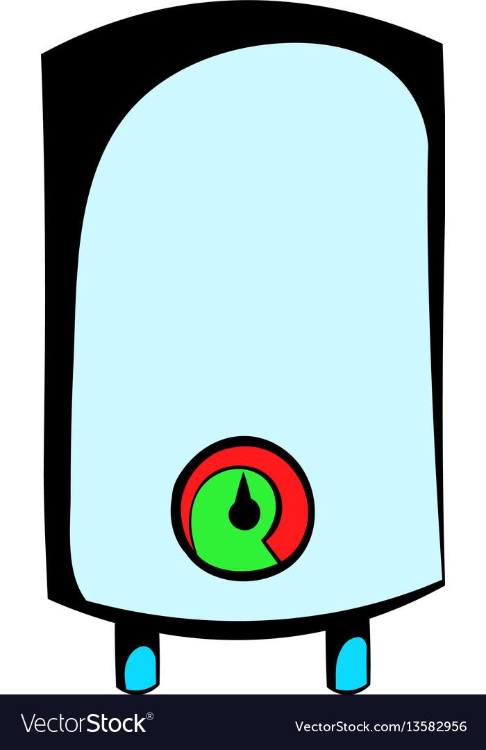 Boiler icon cartoon