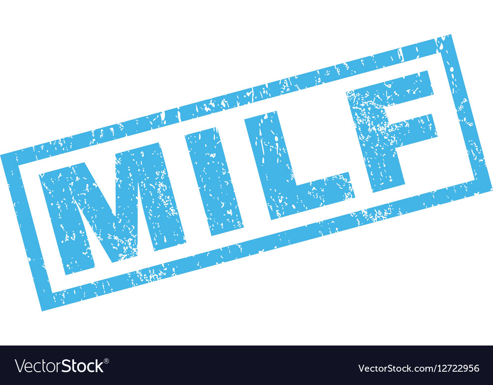 Blue rubber milf