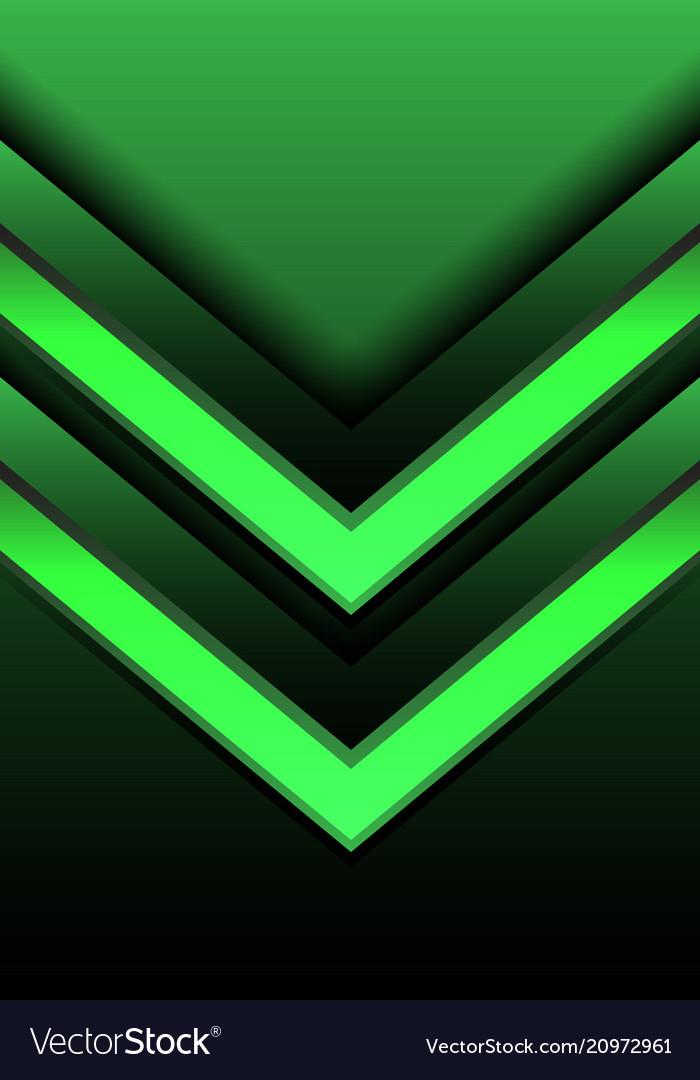 Abstract blue light arrow direction 3d design vector image