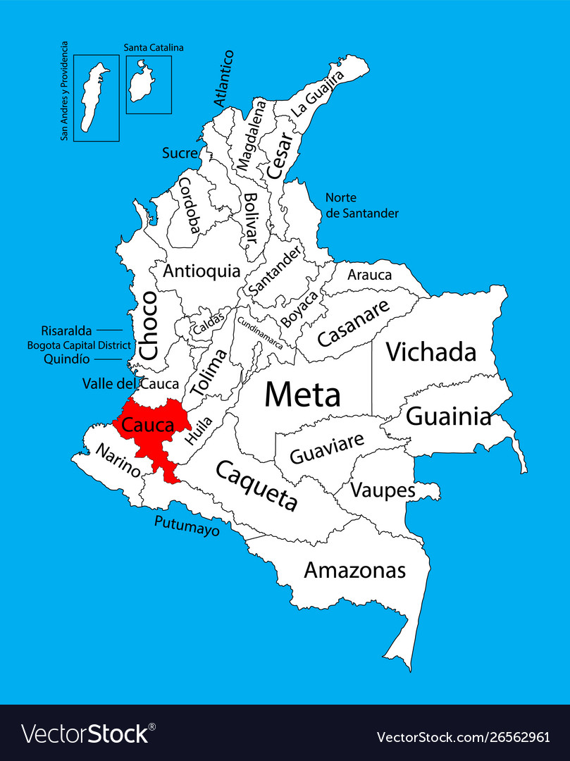Map region cauca colombia province map on cor ca map, phuoc vinh map, ca mau map, con ca map, bat ca map, quang ngai province map, day ca map,