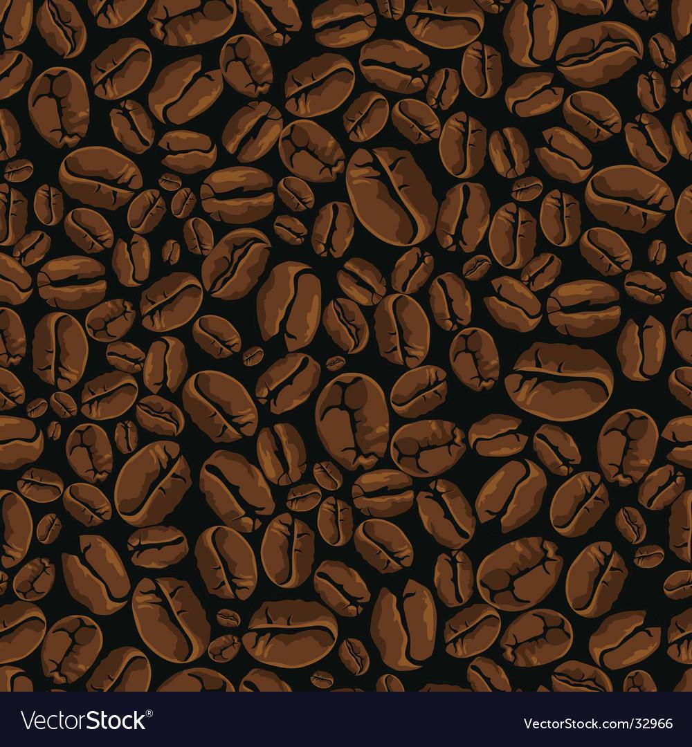 Coffee bean seamless
