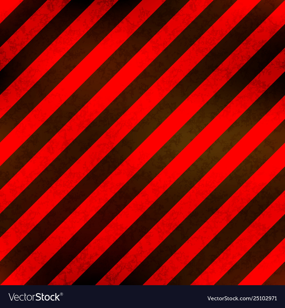 Red and black stripes with grunge texture