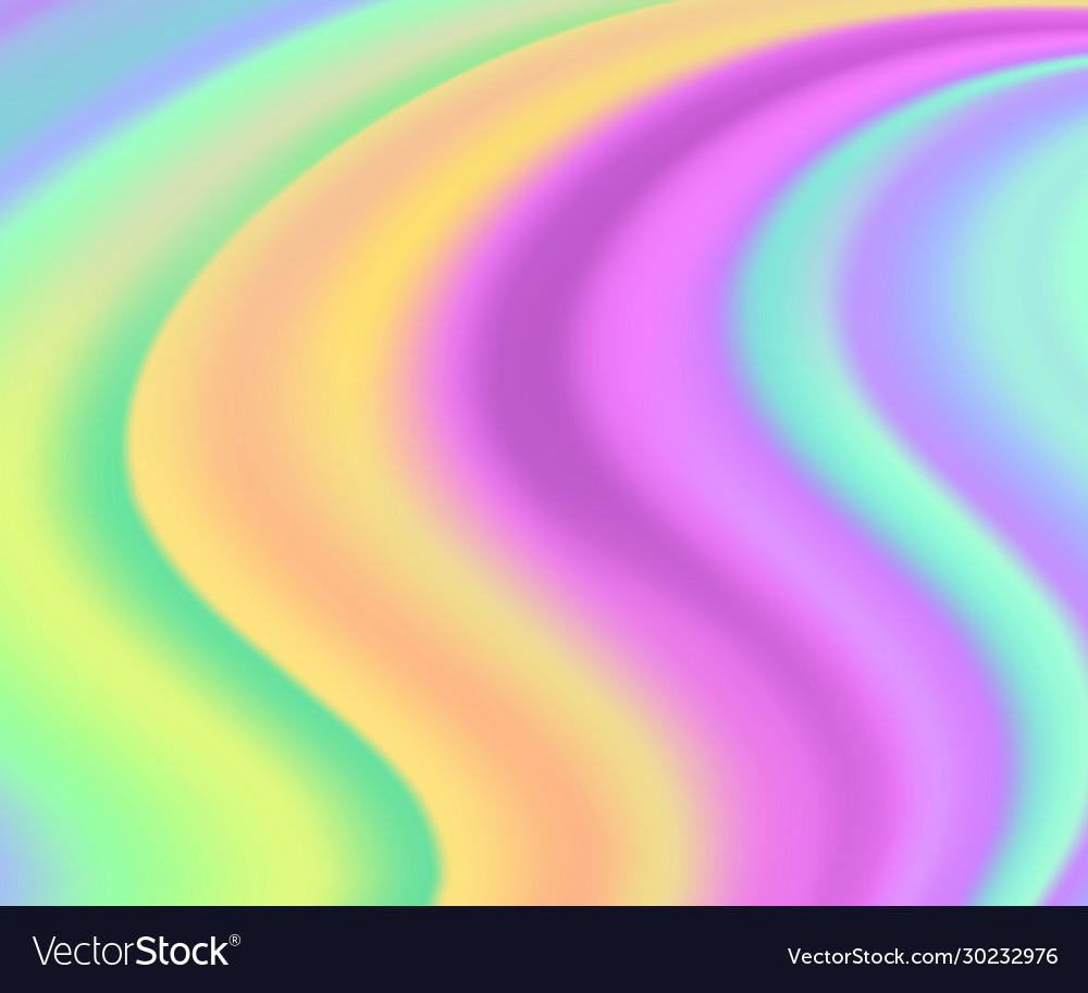 Holographic background iridescent unicorn