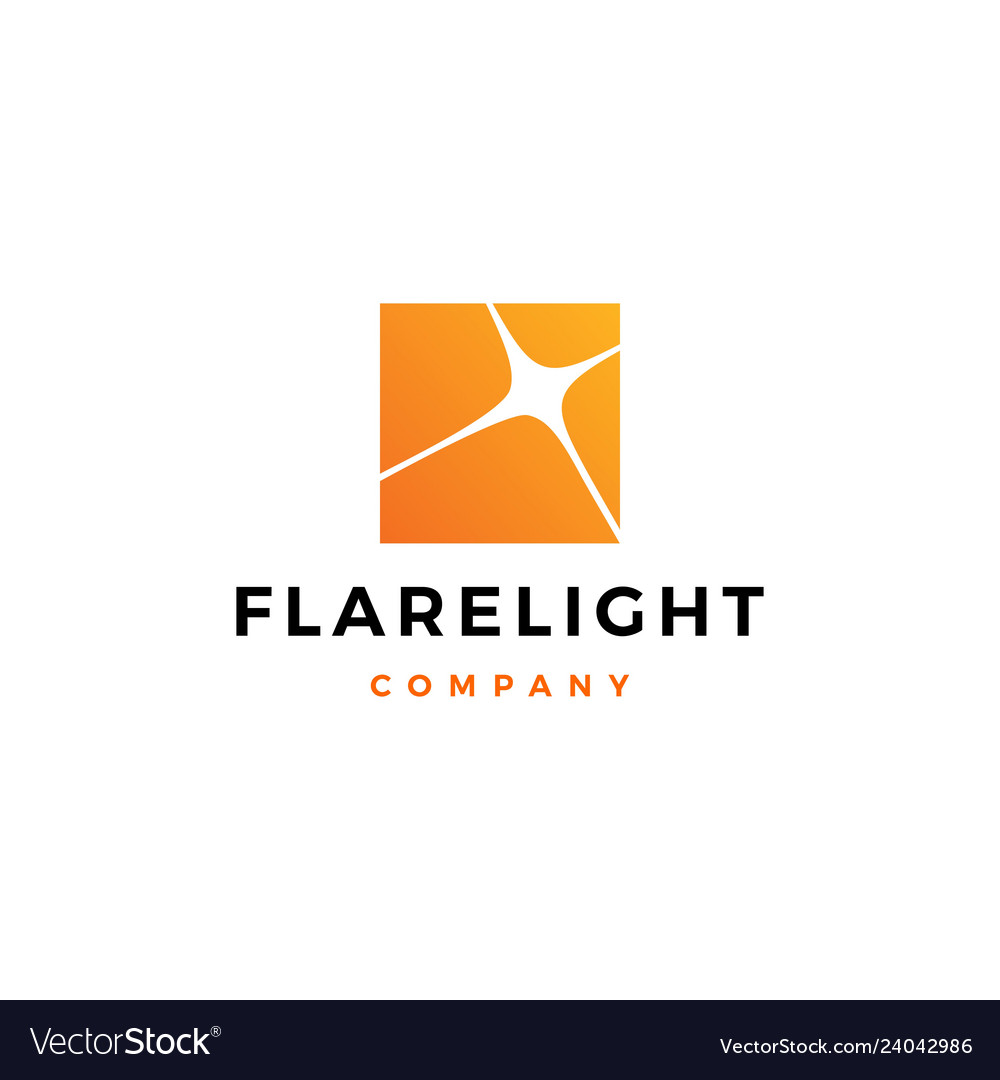 Flare light logo icon download