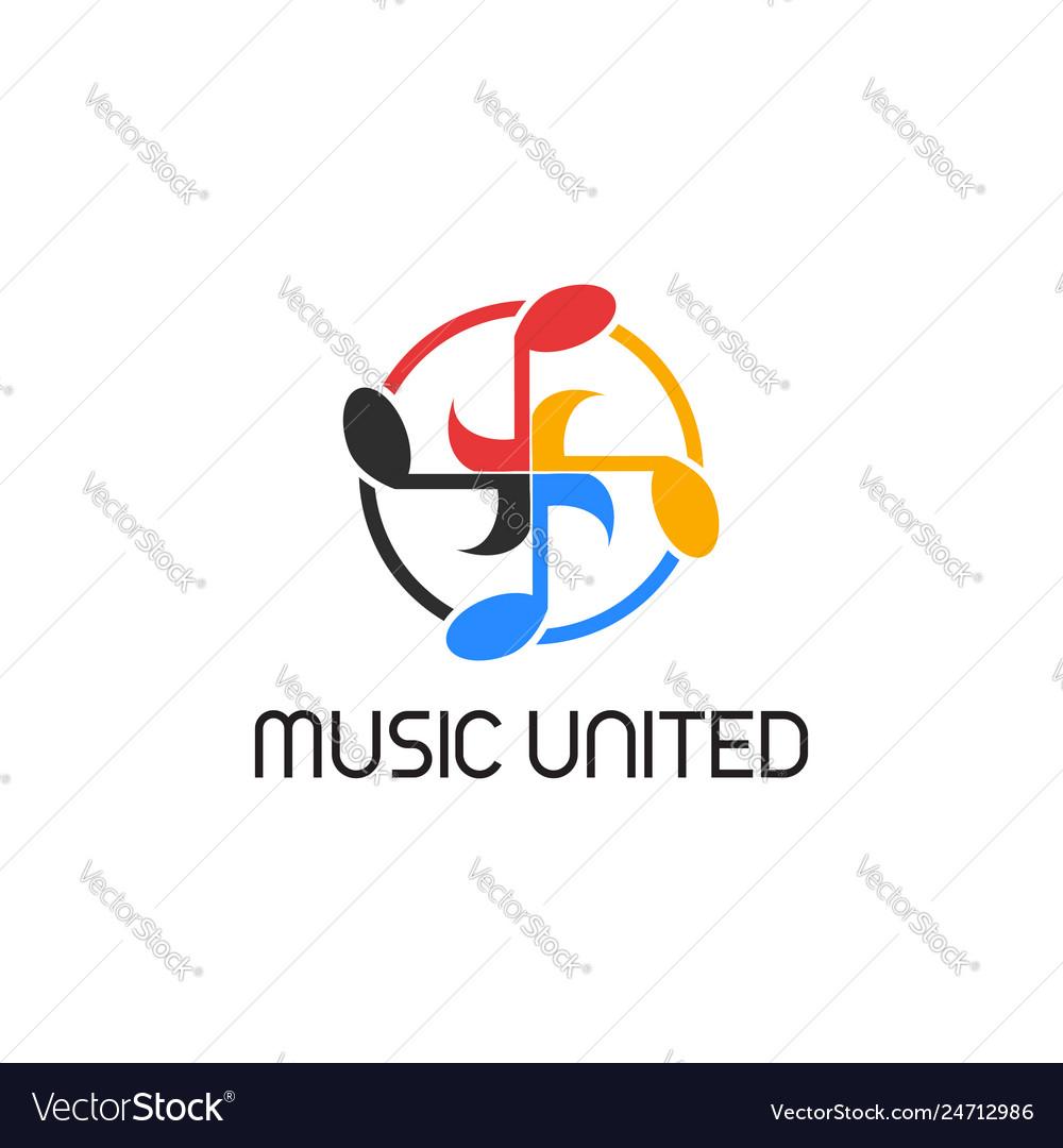Music united circle logo