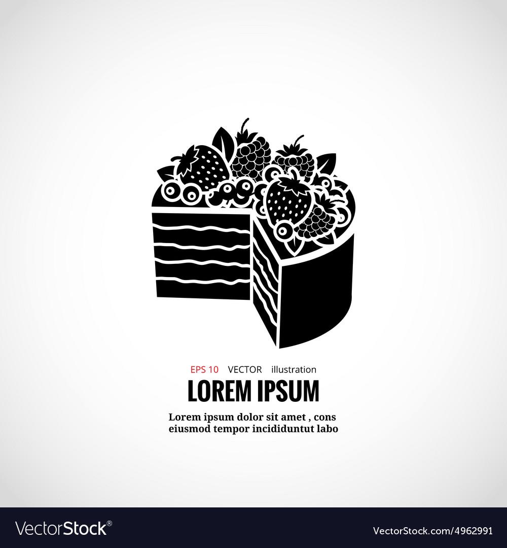 Dessert cakes bakery logo