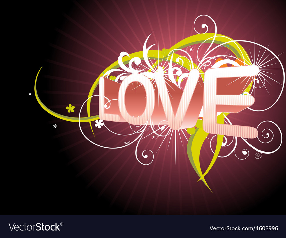 Beautiful love background