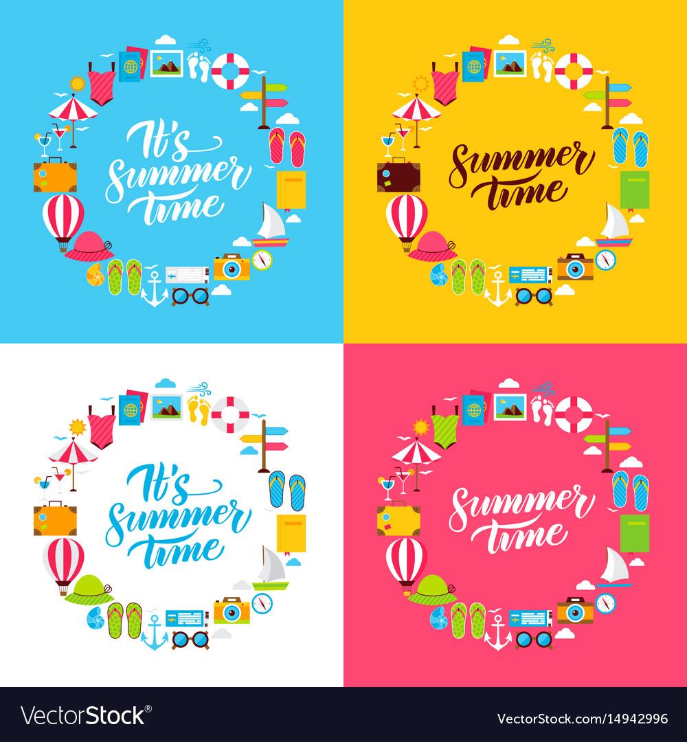 Summer flat circles