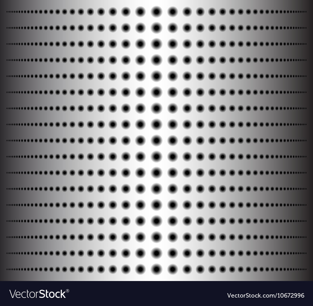 Technology background with circle perforated metal