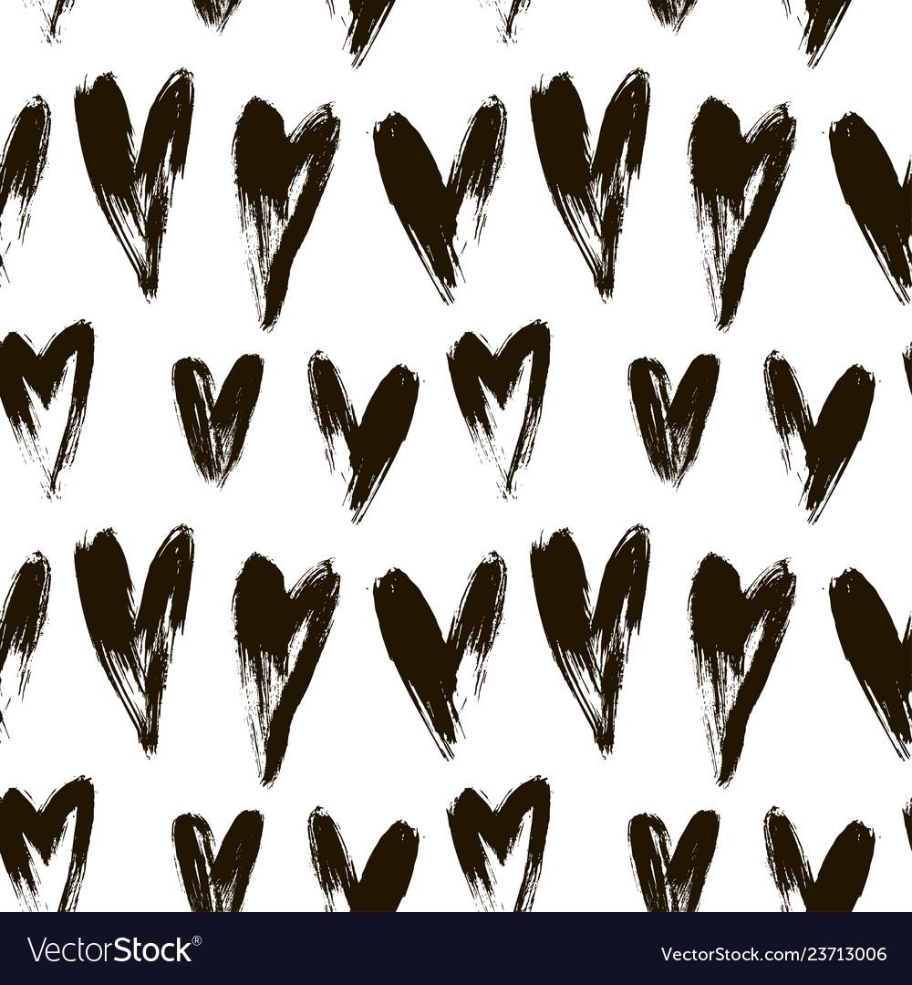 Beautiful seamless heart pattern