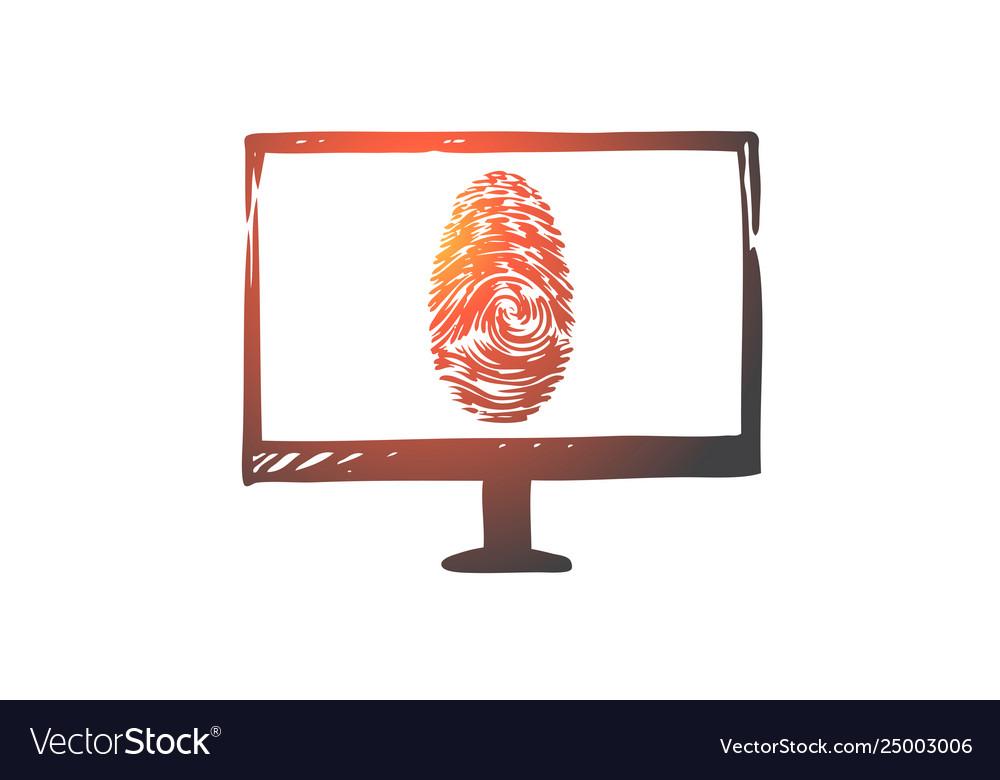 Fingerprints computer protection security