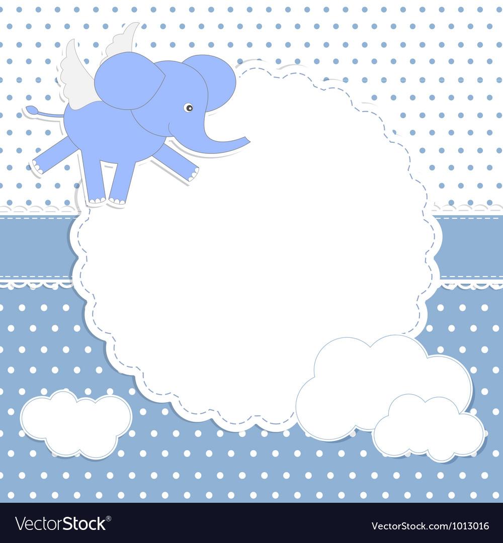 Cute baboy card