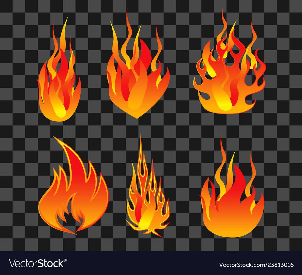 Set fire flame easy to modify