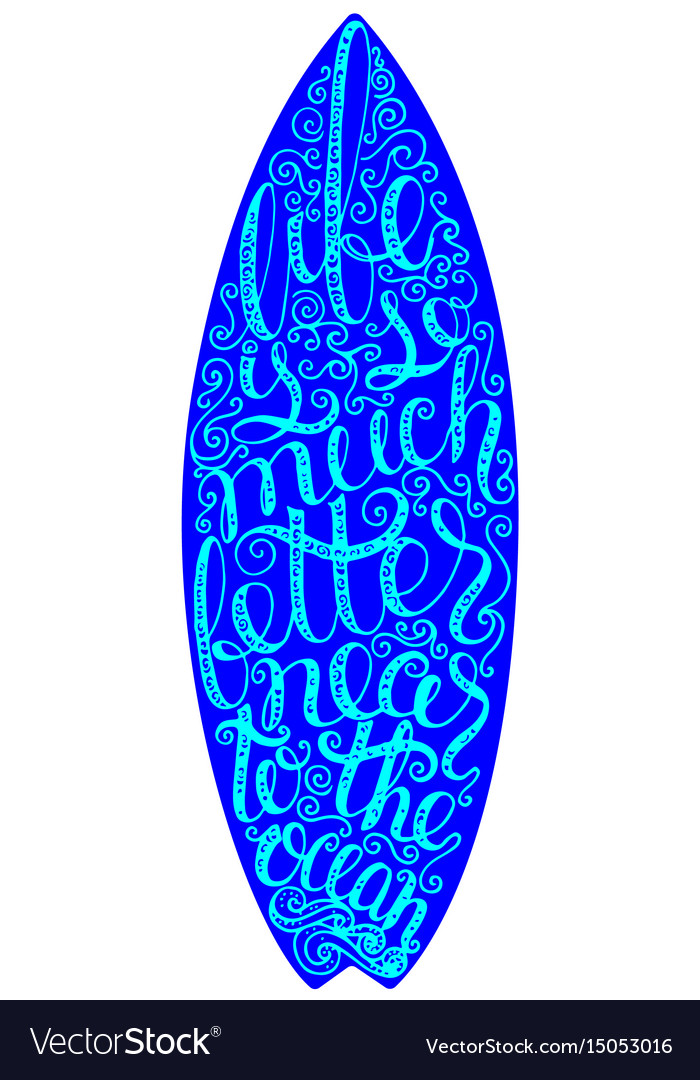 Surfing graphics and poster for web design or