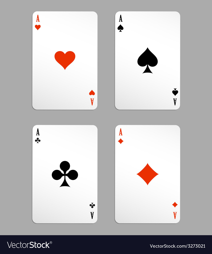 Ace playing cards