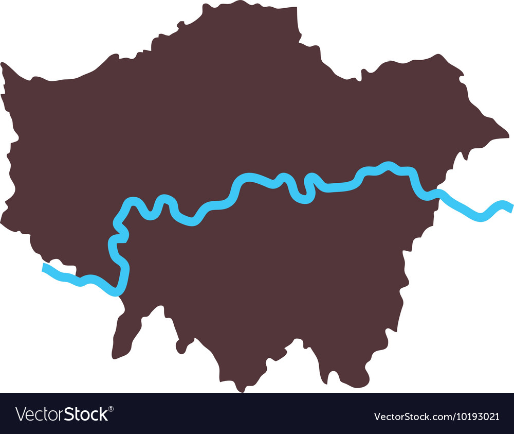 Free London Map.London Map City Icon Graphic Royalty Free Vector Image