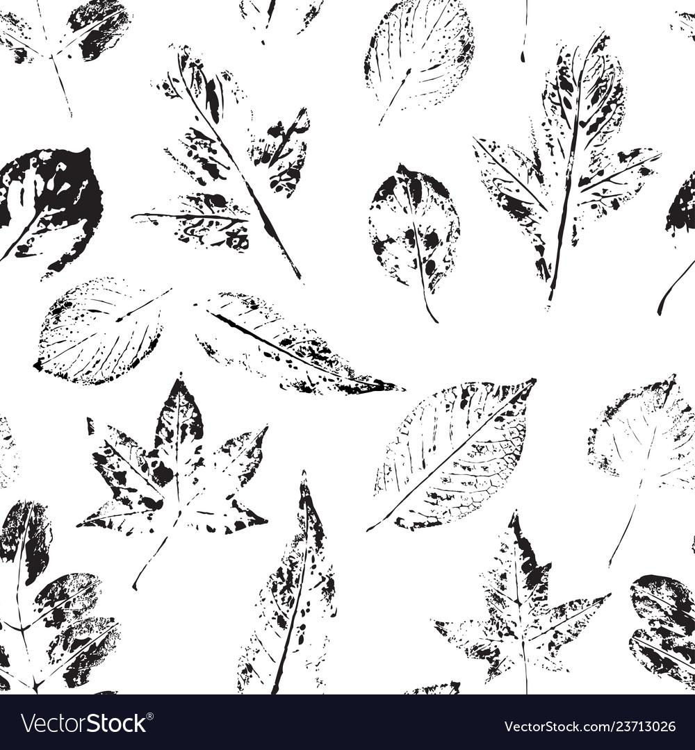 Leaves beautiful seamless pattern