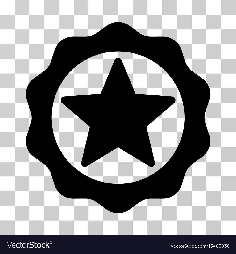 Award star seal icon
