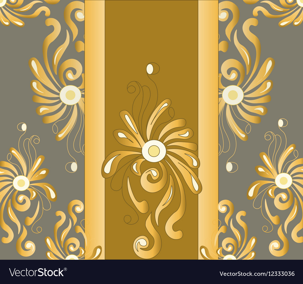 Colored pastel handmade abstract ornament vector image