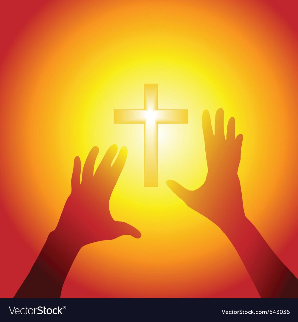 Religion silhouette
