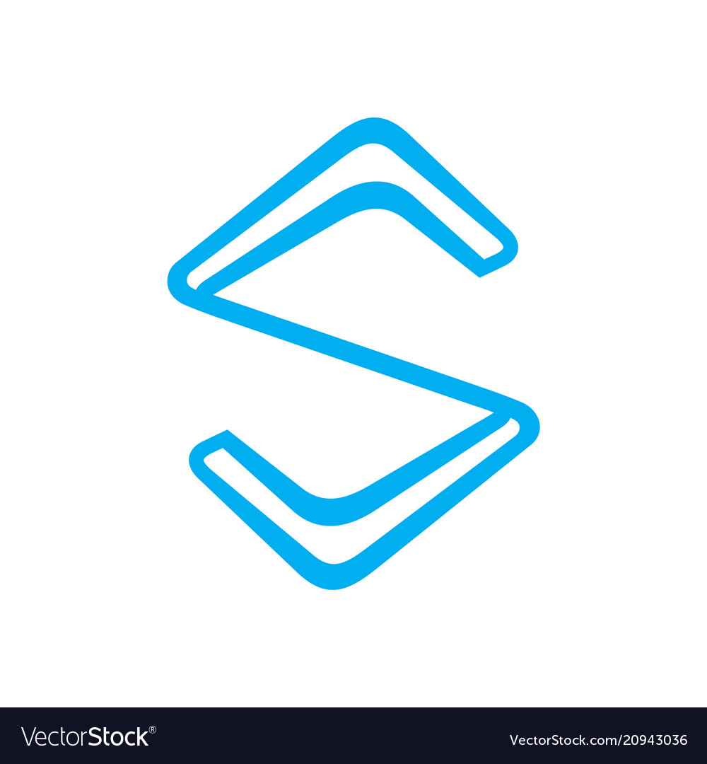 Sign of the letter s